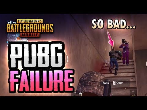 THIS IS HOW YOU FAIL AT PUBG MOBILE...