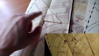 DIY Marauder's Map Comparison (DIY vs Official vs Movie)