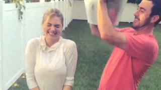 Kate Upton and Justin Verlander ALS Ice Bucket Challenge Official Video