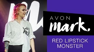 Najbardziej kolorowa premiera AVON ❤️ MARK ❤️ wywiad z Red Lipstick Monster