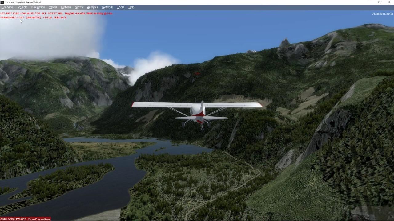 Prepar3D v4 - how I doubled fps with terrain shadows enabled