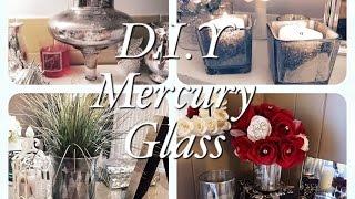Dollar Tree Faux Mercury Glass D.I.Y Projects