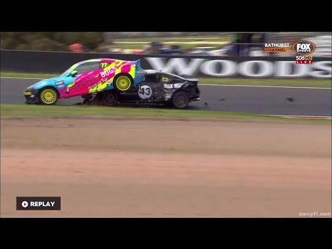 Toyota 86 Racing Series 2016. Race 2 Mount Panorama Circuit. Daniel Rein Ooi Crash & Finish