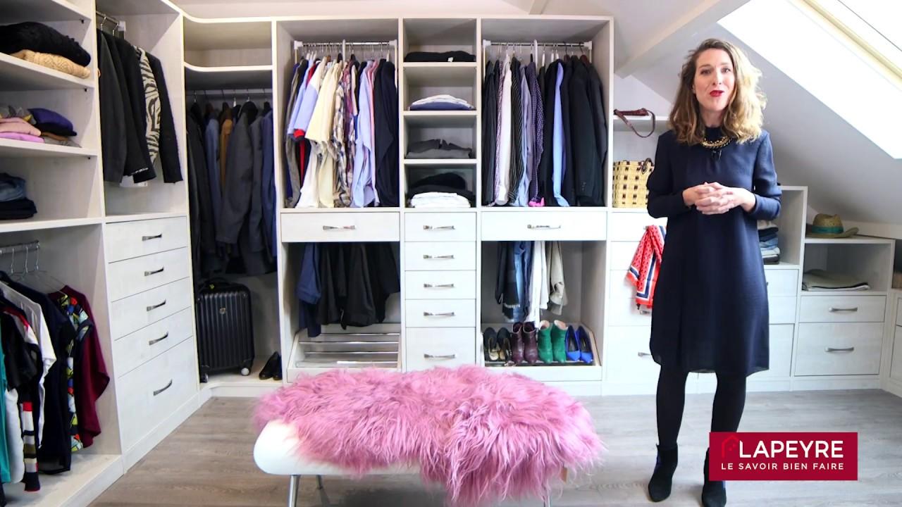 Penderie Pour Chambre Mansardée dressing sous les combles : nos conseils d'architecte pour bien l'aménager !