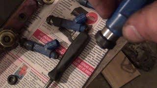 замена уплотнительных резинок на форсунках, долго запускается двигатель ч.2 ( поиск причины)