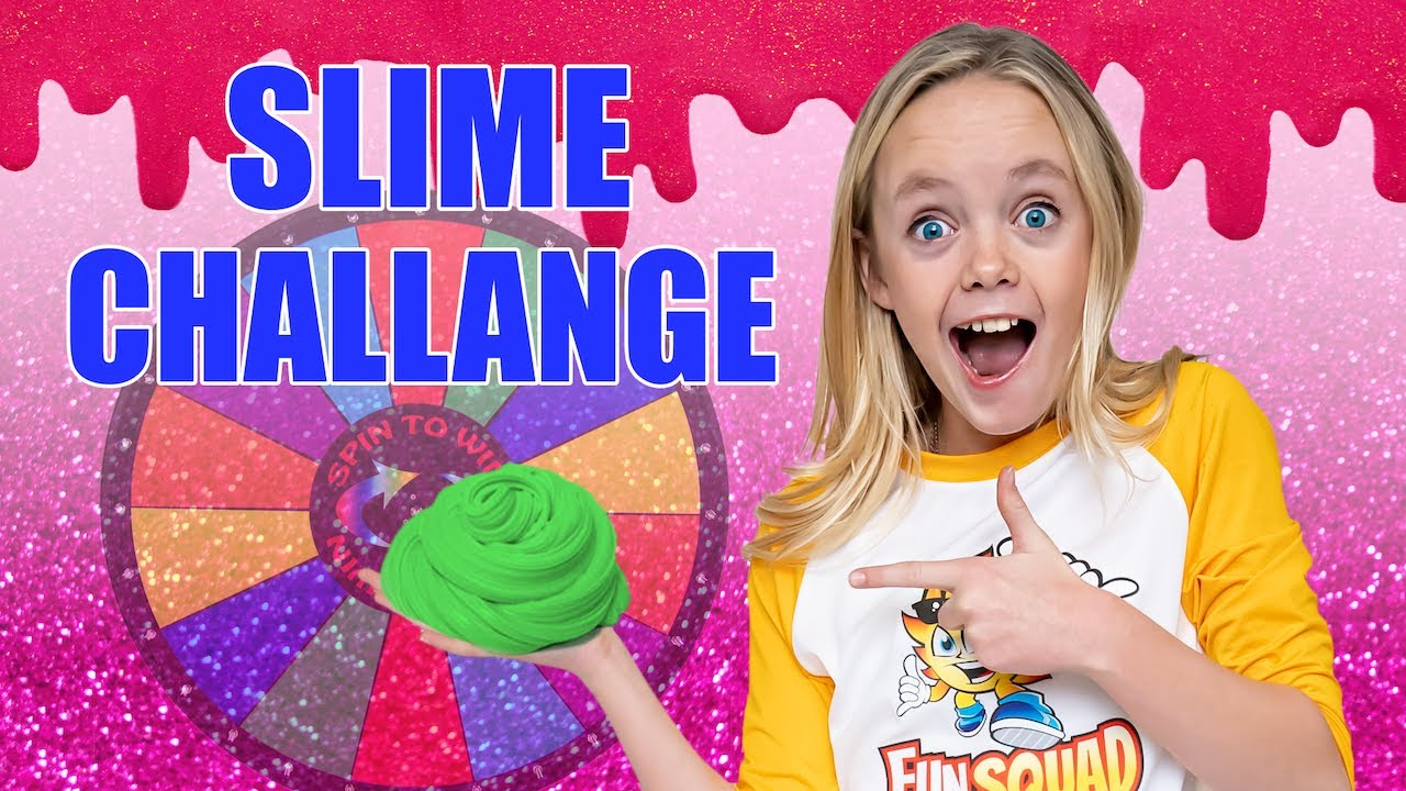 Mystery Wheel Decides Crazy Items For Our Slime! Jazzy Skye