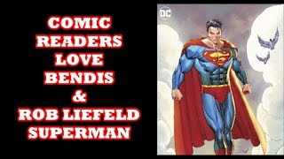 Superman By Rob Leifeld & Brian Michael Bendis Is A Comic book Fan Favorite