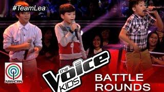 "The Voice Kids Philippines 2015 Battle Performance: ""I Want You Back"" Jhoas vs Noah vs Luke"