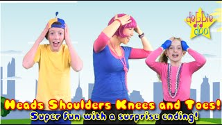 Head Shoulders Knees and Toes - Nursery Rhyme for kids with Lets Star Jump Mash up!