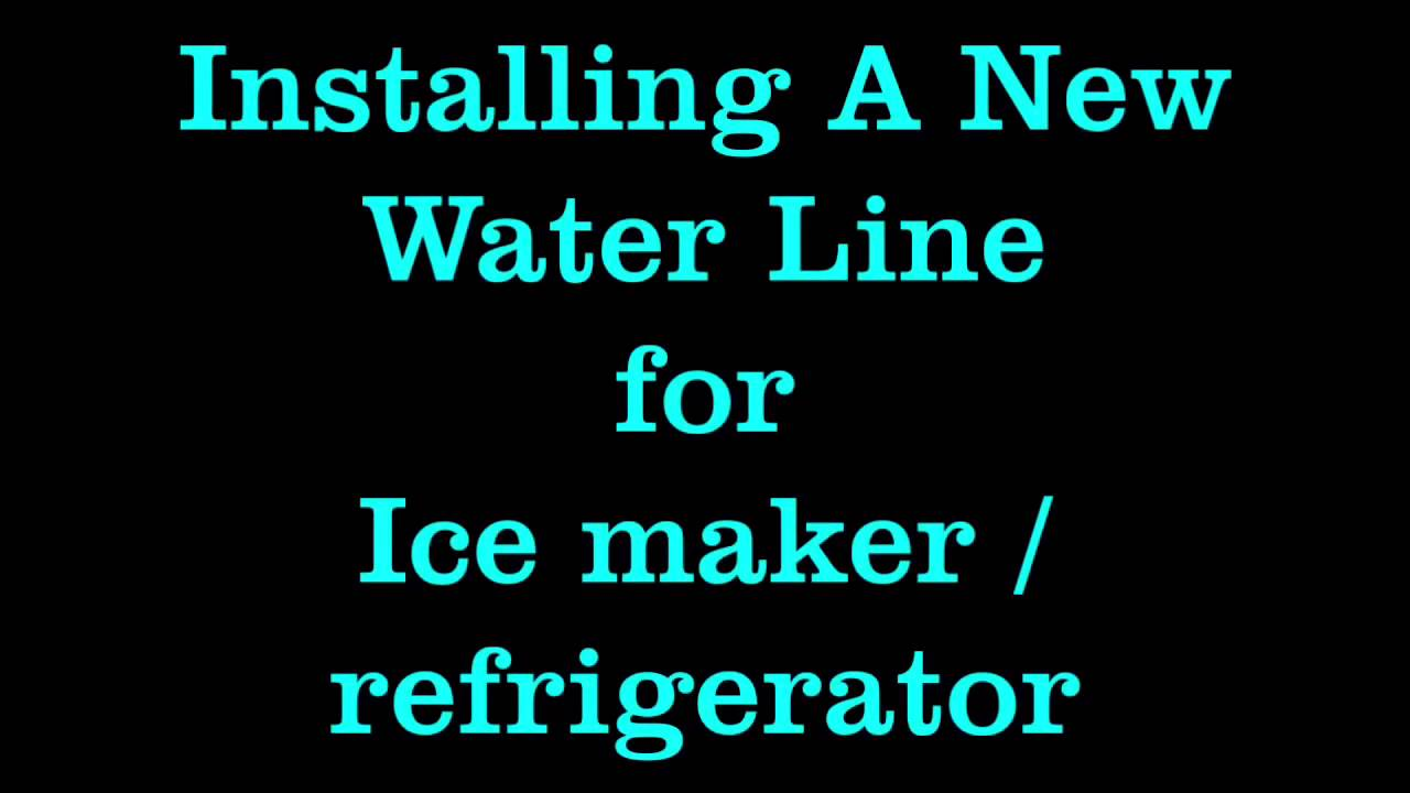 cost to hook up waterline to fridge