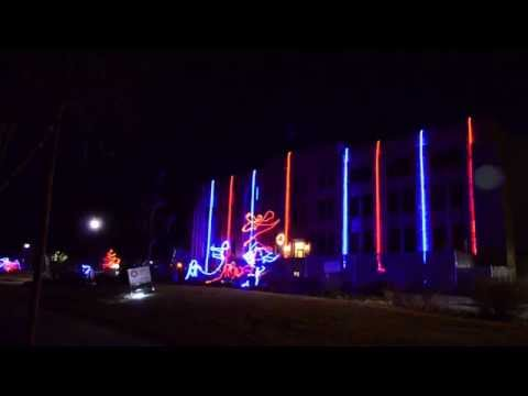 Laramie Light Show