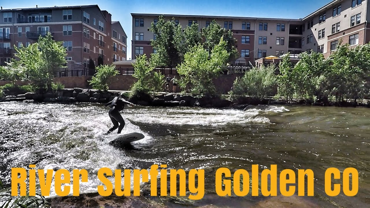 River Surfing Golden Colorado - Riverbreak Magazine