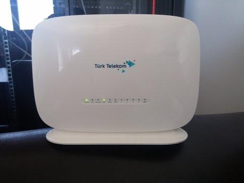 Türk Telekom Modem Şifresi ve Adı Değiştirme