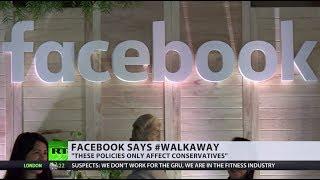 'Suppressing free speech': Facebook suspends #Walkaway founder's account
