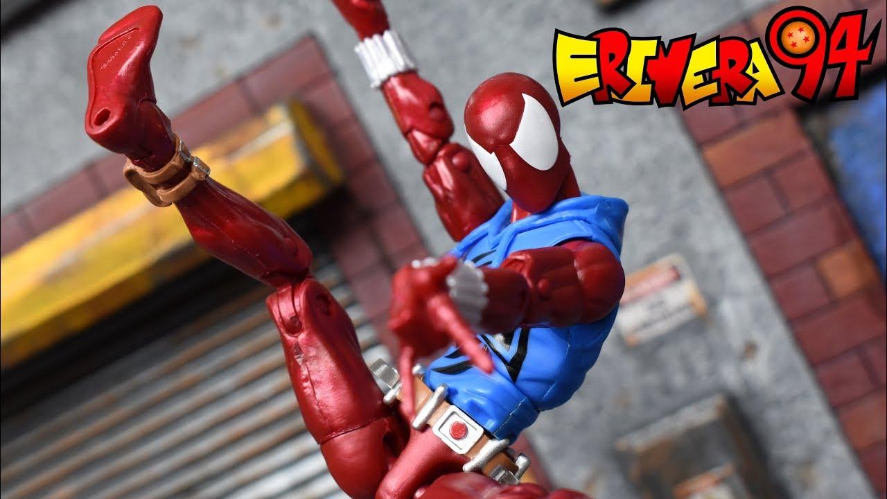 Marvel Legends Rétro Vintage Scarlet Spider Hasbro