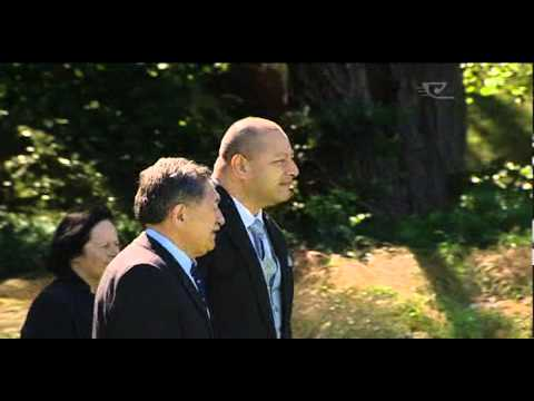Pōwhiri for King of Tonga's first official visit to NZ