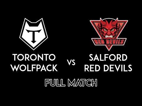 Salford Red Devils vs Toronto Wolfpack