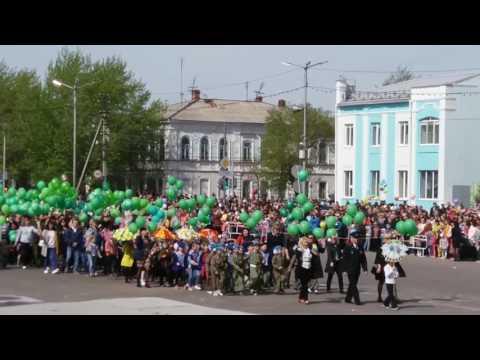 видео: Парад победы в г.Троицке детский сад 19