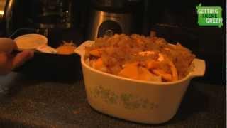 Butter Nut Squash Au Gratin - Recipe