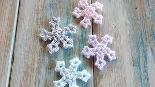 Crochet Mini Snowflake