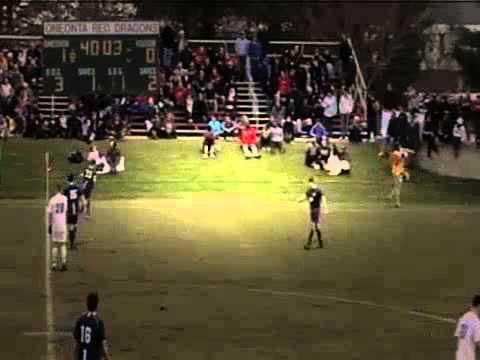 Men's soccer vs  Brandeis - 2014 NCAA Tournament Sectional Championship