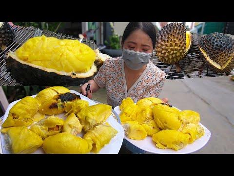 Ngon tê lưỡi ăn Sầu Riêng Chín Cây Nướng 400k tự làm ở nhà