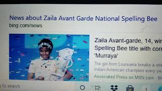 Zaila Avant-Garde, 14 years old