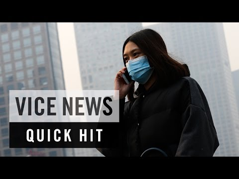 Beijing Covered by Record-Breaking Smog: VICE News Quick Hit