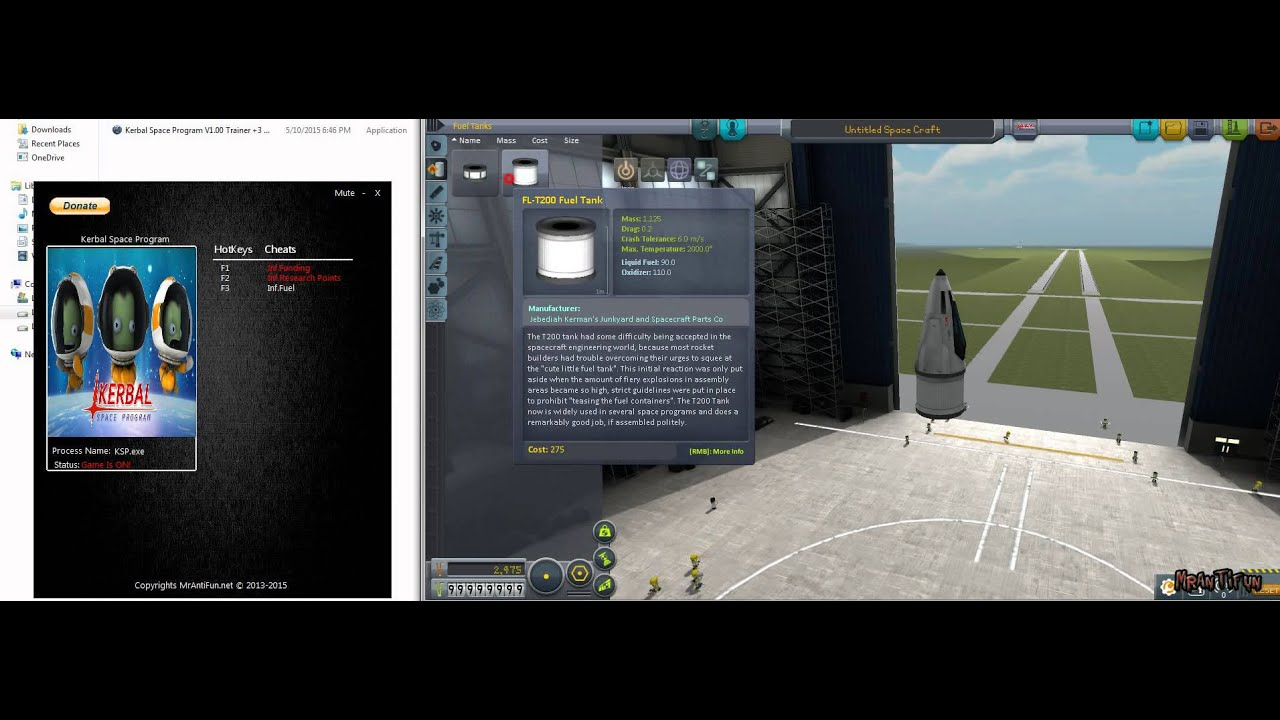 Kerbal Space Program Trainer | MrAntiFun, PC Video Game Trainers