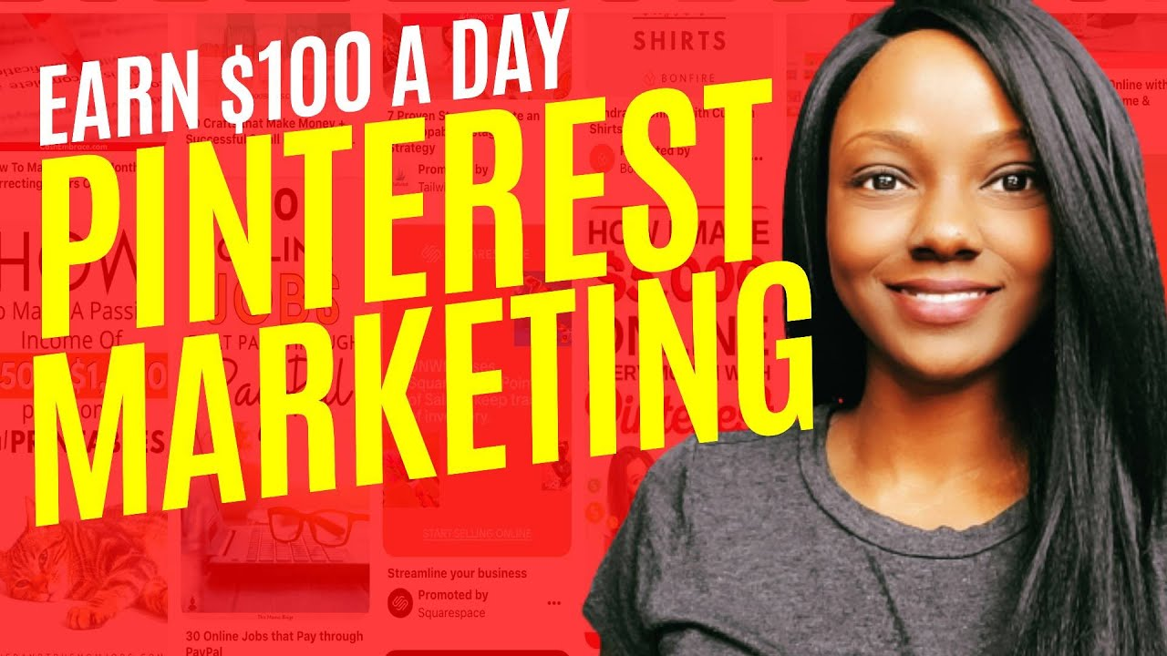 How to Make Money on Pinterest Without Blogging    100 Per Day