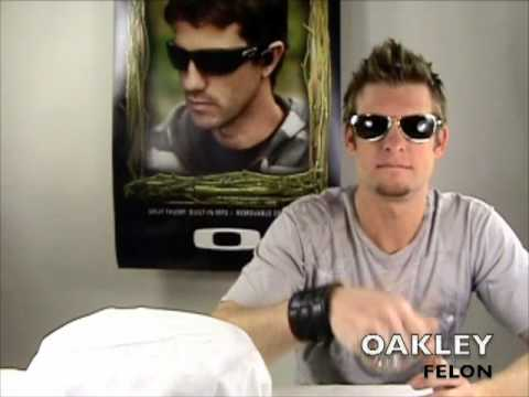 bb67b07fa4 Oakley Felon sunglasses - YouTube