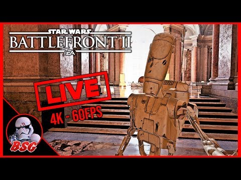 Happy New Year! Star Wars Battlefront 2 | 4K Live Stream (4K 60FPS) thumbnail