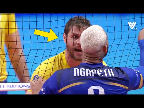 The Most Risky Set in Volleyball History !!! (HD)