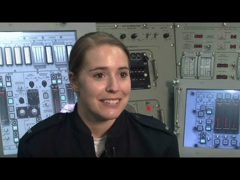 Women in Navy submerge for first time