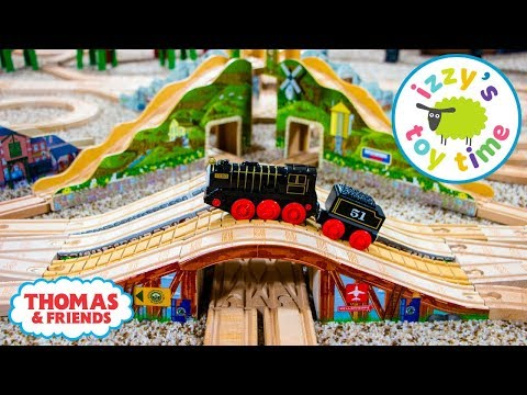 Thomas and Friends BRIDGE CHALLENGE! Fun Toy Trains for Kids | Thomas Train with Brio for Children