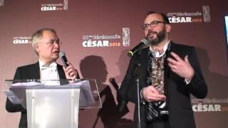 Jean Laroque César 2016 des meilleurs costumes pour Marguerite