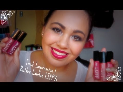 First Impressions | Butter London LIPPYs