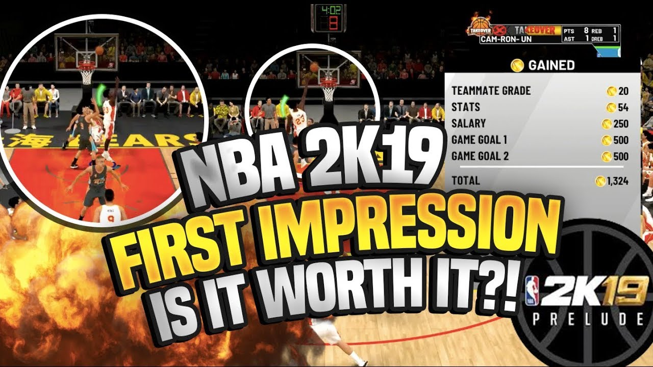 NBA 2K19 THE PRELUDE FIRST IMPRESSIONS!!!! IS NBA 2K19 WORTH IT?