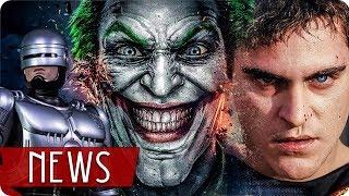 Der neue JOKER  | Endlich ZOMBIELAND 2 | ROBOCOP Returns  - FILM NEWS