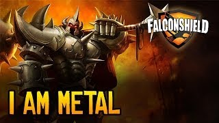 Falconshield - I Am Metal (League of Legends Music - Mordekaiser)