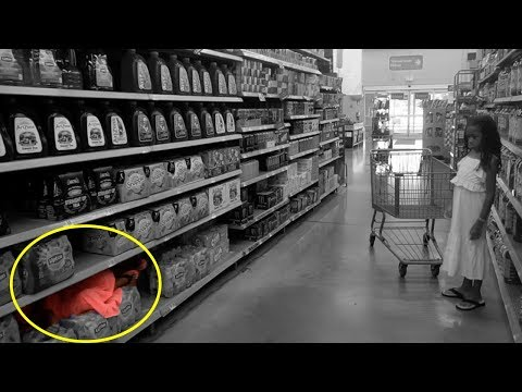 Little Elli Pretend Play Grocery Shopping! Hide & Seek with toys and colors