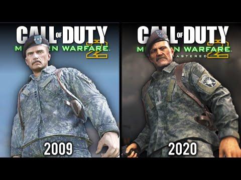 Call Of Duty: Modern Warfare 2 - Remastered Vs Original | Direct Comparison