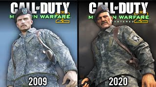 Call of Duty: Modern Warfare 2 - Remastered vs Original | Direct Comparison