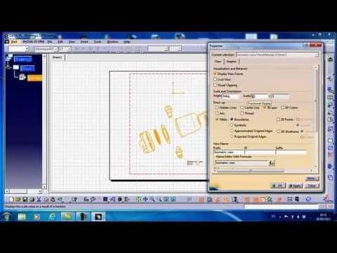 catia v5 drafting tutorial