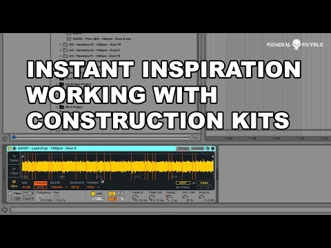Hardstyle Tutorial: Get creative with Audio Loops and Construction Kits