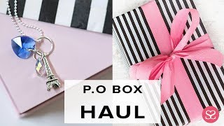 PARIS INSPIRED ACCESSORIES | HAUL | Subbie Mailtime | Sophie Shohet