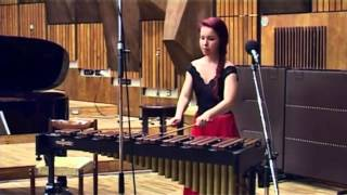 J.S.Bach: Suite No. 2 Minuet, Badinerie - on XYLOFON - by Lenka Molcanyiova