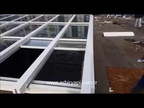 Ordinaire ERBİR YAPI, Motorized Retractable U0026 Sliding Glass Roof System   YouTube