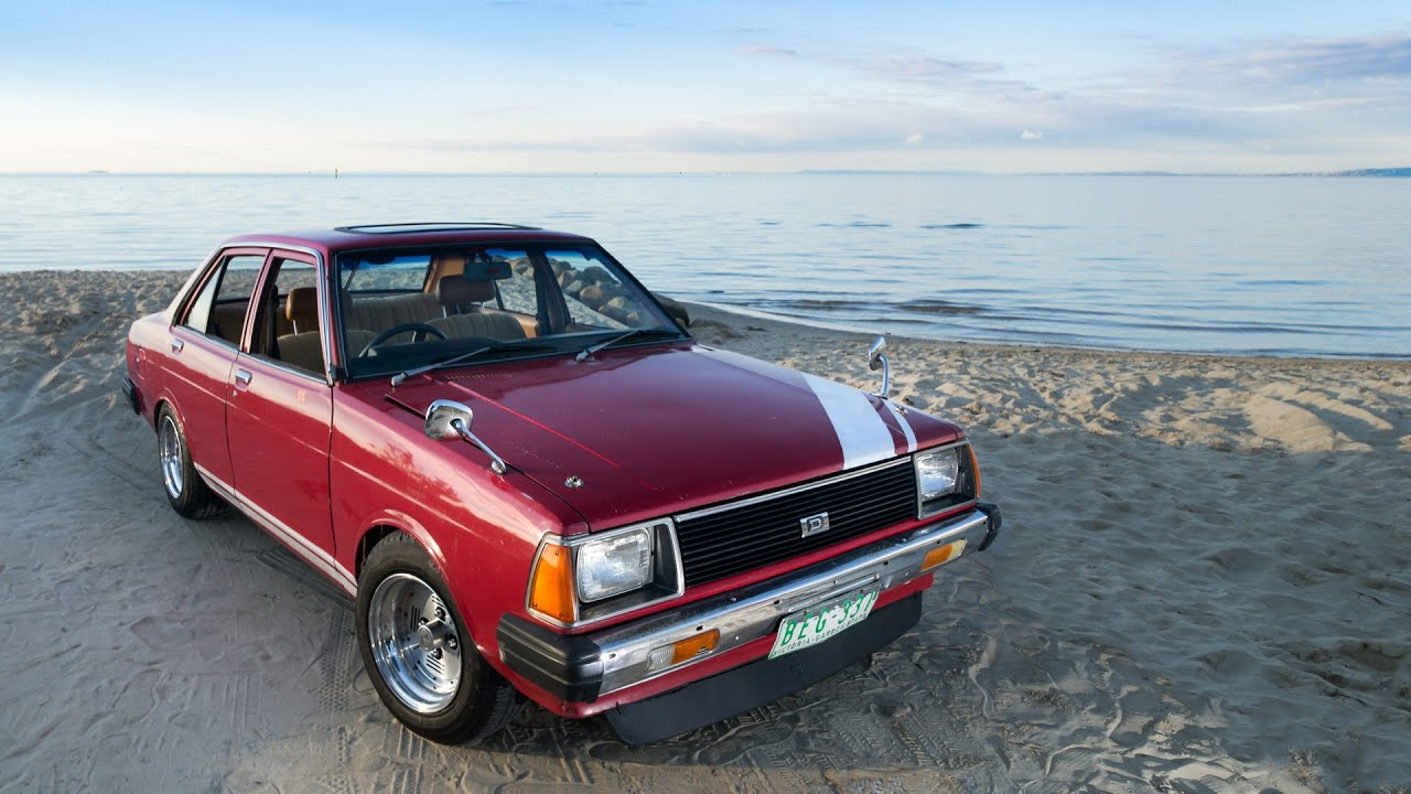 datsun 1200 sunny weber tuned and acceleration wide open throttle