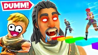 Der 100 *DUMME* LEVEL Deathrun in Fortnite!